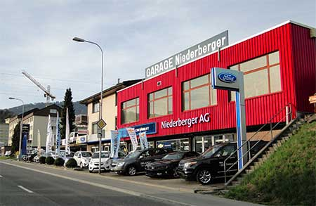 Garage Niederberger AG, Wollerau